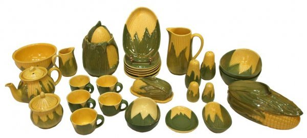 LARGE COLLECTION SHAWNEE CORN KING POTTERY