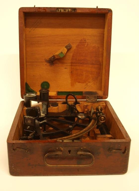 AMERICAN SHIPS SEXTANT, BRANDIS & SONS INC., NY - 2