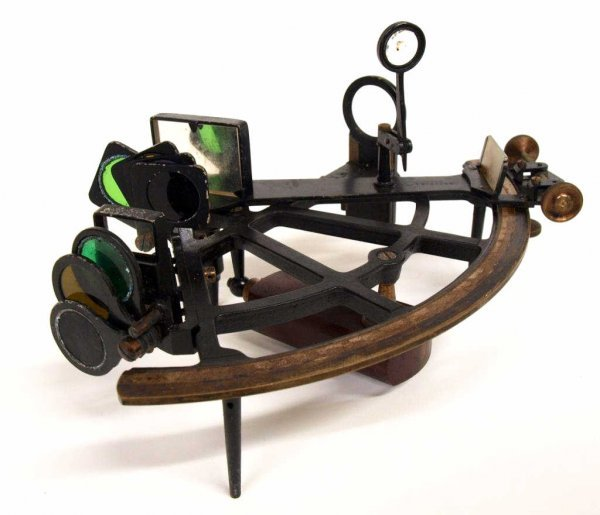AMERICAN SHIPS SEXTANT, BRANDIS & SONS INC., NY - 3