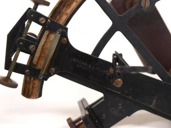 AMERICAN SHIPS SEXTANT, BRANDIS & SONS INC., NY - 5
