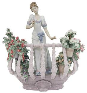 LLADRO LIMITED-EDITION PORCELAIN FAR AWAY THOUGHTS
