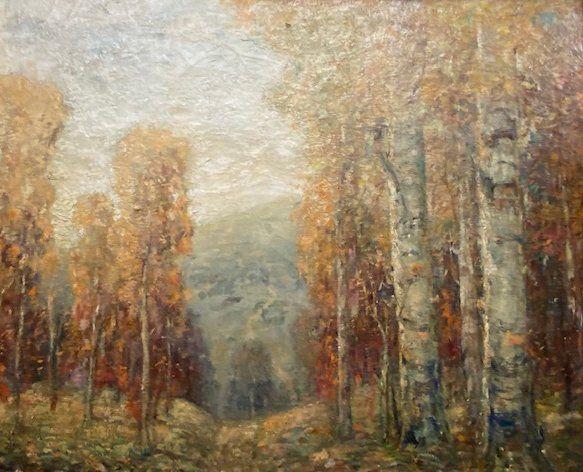 PAUL BERNARD KING (1867-1947) AUTUMN LANDSCAPE