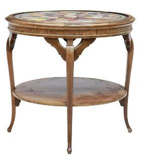 PIETRA DURA MARBLE & STONE SPECIMEN TABLE