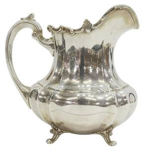 REED & BARTON HAMPTON COURT STERLING WATER PITCHER
