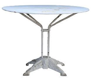 CAST IRON PATIO GARDEN TABLE