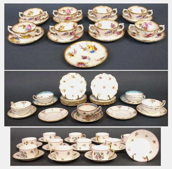 MINTONS & OTHER PORCELAIN TABLEWARE, TIFFANY & CO