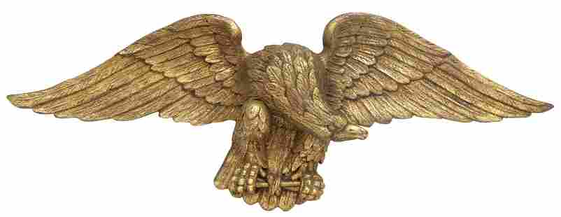 AMERICAN FEDERAL STYLE EAGLE ARCHITECTURAL ELEMENT