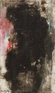 ARNALDO ESPOSTO (1933-1996) ABSTRACT PAINTING