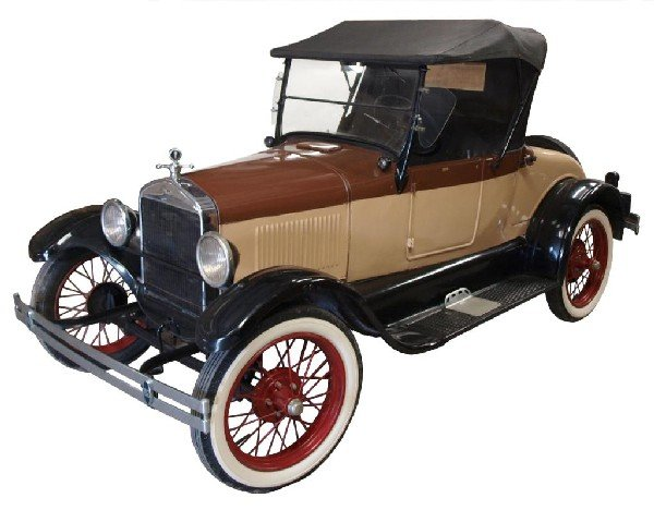 703: 1926 MODEL T FORD ROADSTER, OPERATING, 2ND OWNER