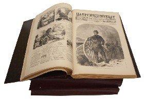 18: (3) REISSUE OF HARPERS WEEKLY CIVIL WAR 1861-1863