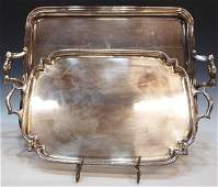 85: LARGE FRENCH CHRISTOFLE SILVER PLATE SERVICE TRAY