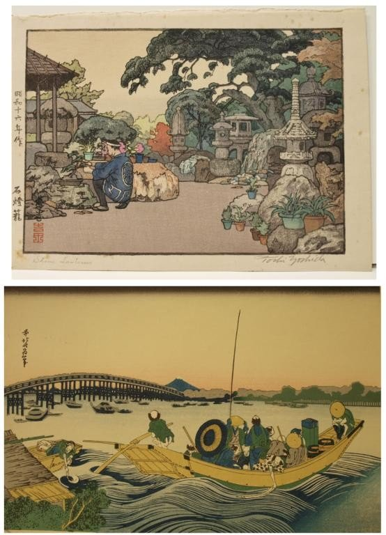 32: JAPANESE WOODBLOCK PRINTS, TOSHI YOSHIDA