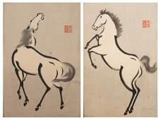 418: JAPANESE WOODBLOCK PRINTS, URUSHIBARA MOKUCHU