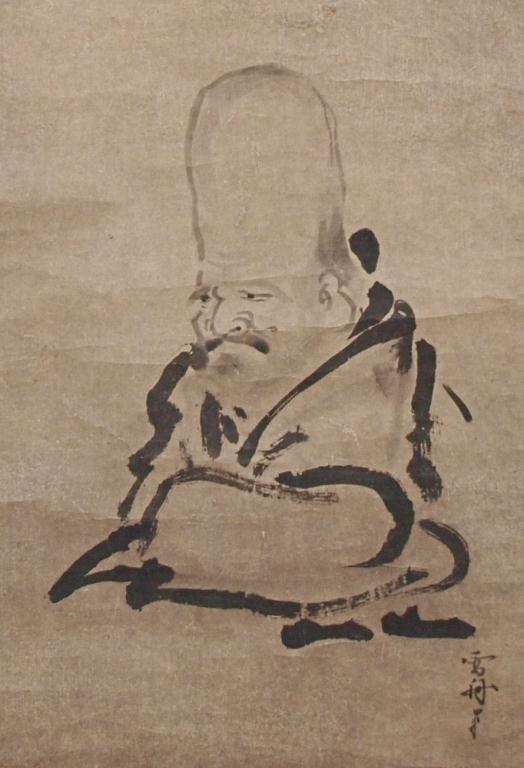 233: JAPANESE HANGING SCROLL AFTER SESSHU(1420-1506)
