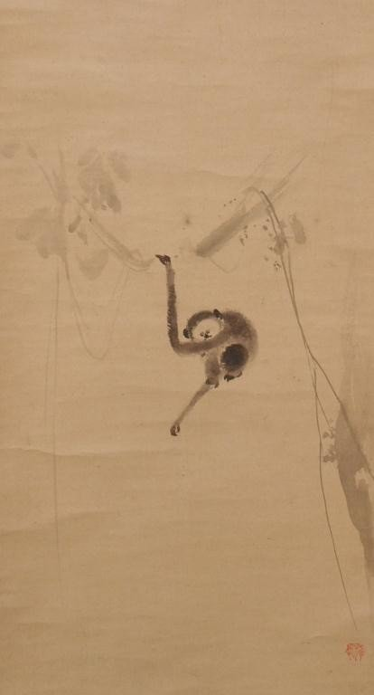 234: JAPANESE HANGING SCROLL SCHOOL OF KANO TAN'YU