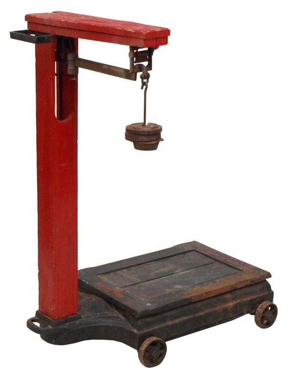 19: HOWE IRON FRAMED SCALE
