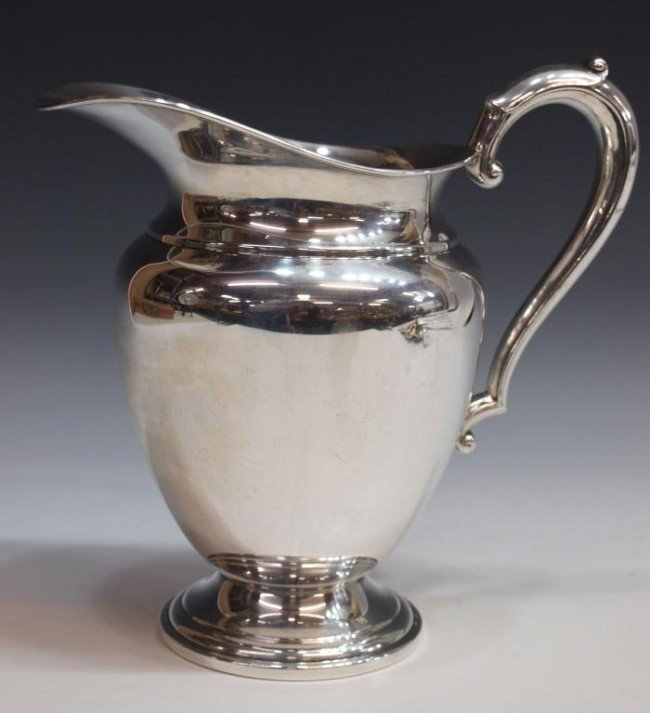 31: LARGE FRANK M. WHITING STERLING WATER PITCHER