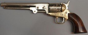 1851 COLT REVOLVER REPRODUCTION, BLACK POWDER