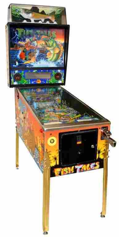 WILLIAMS ELECTRONIC PINBALL MACHINE, FISH TALES