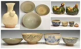 578: (14) ANTIQUE CHINESE & SE ASIAN CERAMIC BOWLS