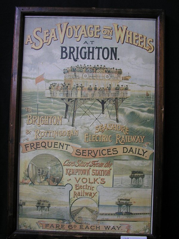 2: SEA VOYAGE ON WHEELS FRAMED POSTER CONDITI