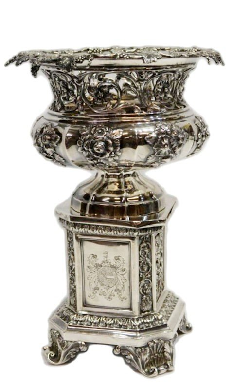 249: MATTHEW BOULTON STERLING CENTERPIECE, C.1830