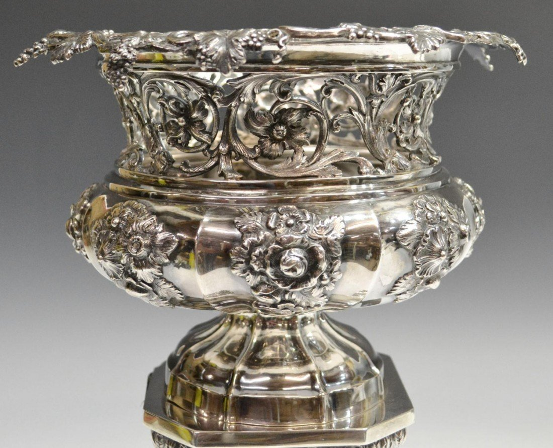 249: MATTHEW BOULTON STERLING CENTERPIECE, C.1830 - 3