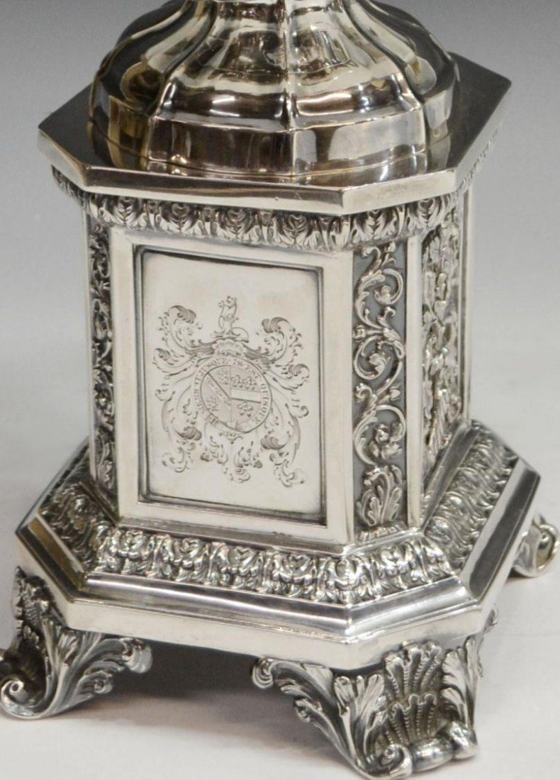 249: MATTHEW BOULTON STERLING CENTERPIECE, C.1830 - 4