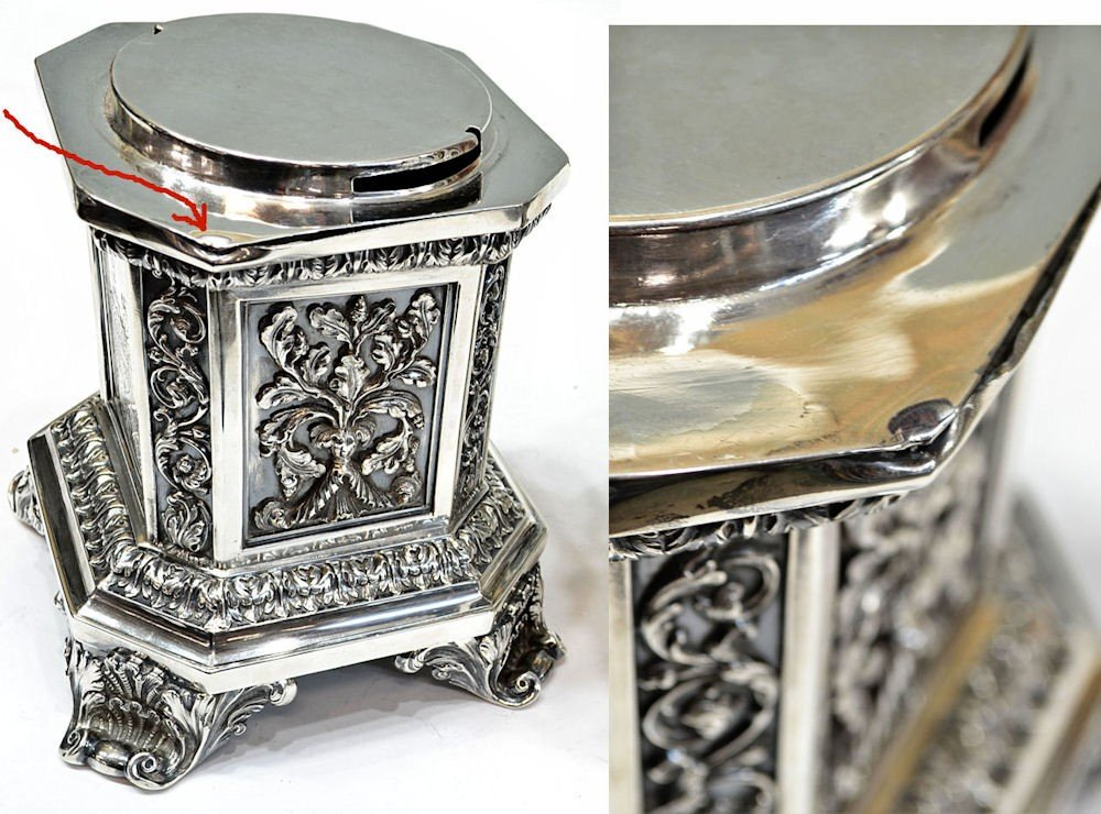 249: MATTHEW BOULTON STERLING CENTERPIECE, C.1830 - 9