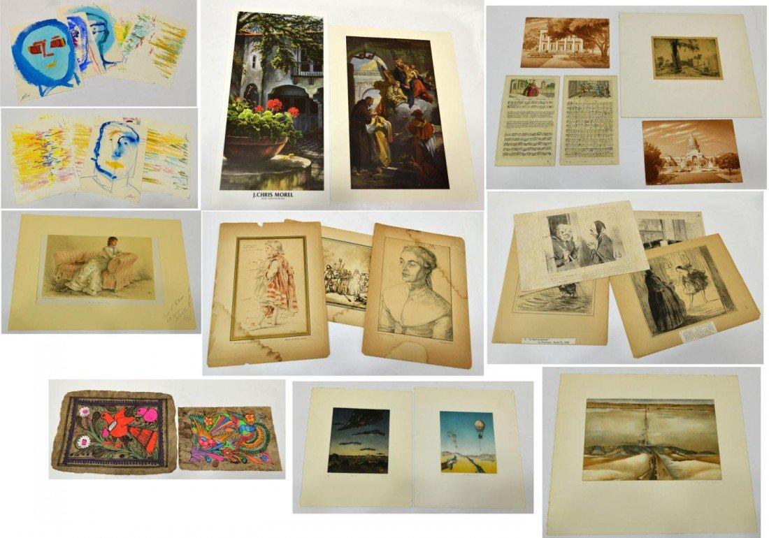 24: (31) ART: TEXAS CAPITOL, VANITY FAIR, ECT.