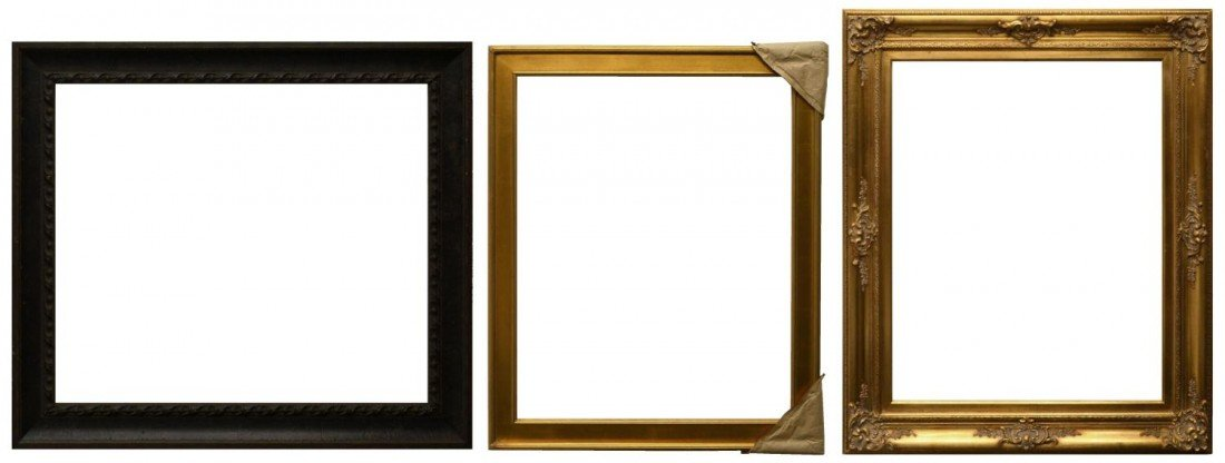 "31: (3) PICTURE FRAMES, 30"" x 36"""