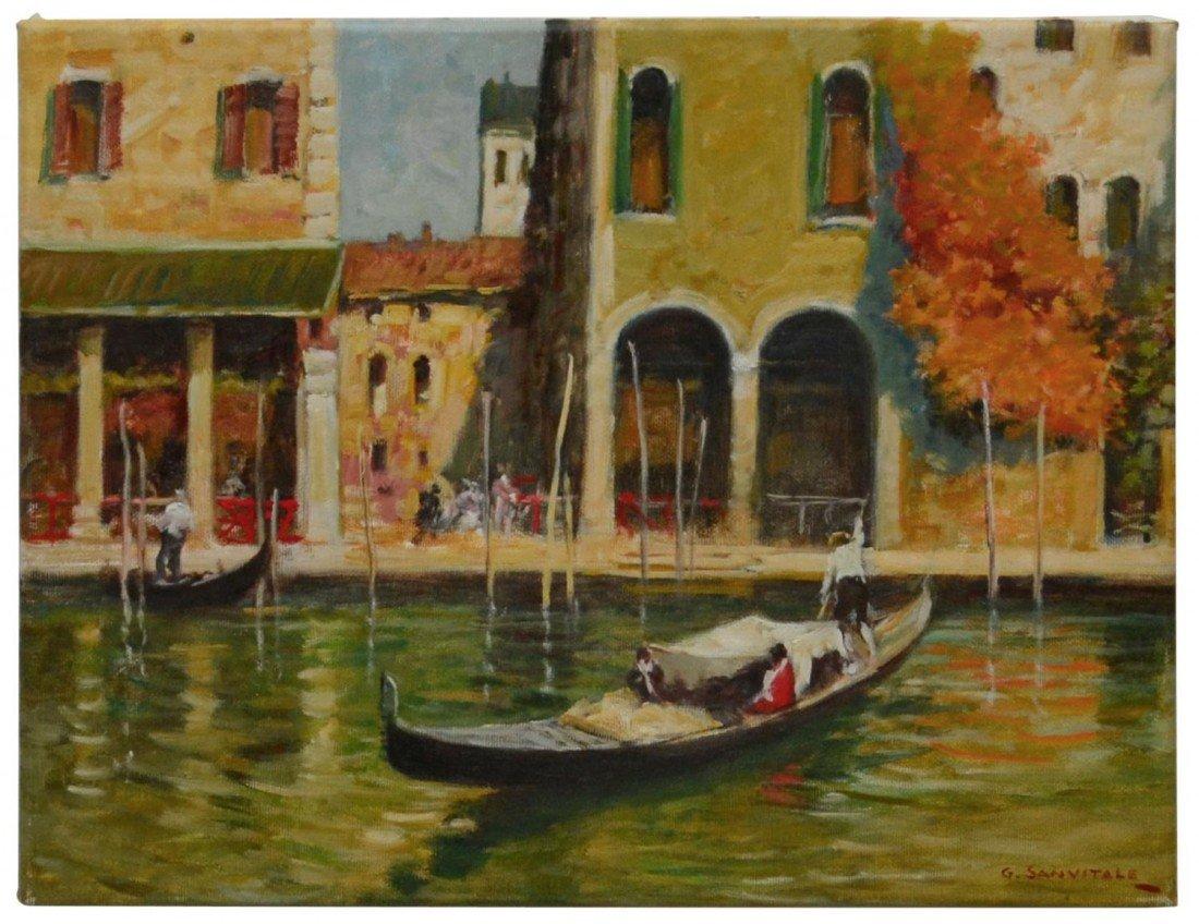 49: OIL PAINTING, GIOVANNI SANVITALE, ITALY, B.1935