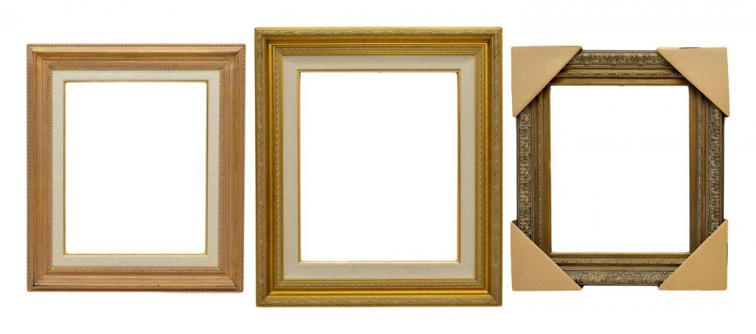 """53: (3) PICTURE FRAMES, 20"""" x 24"""""""