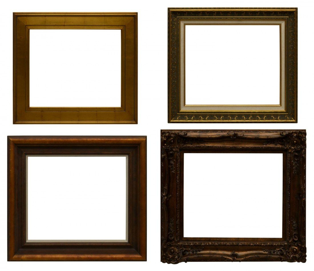 """55: (4) PICTURE FRAMES, 20"""" x 24"""""""