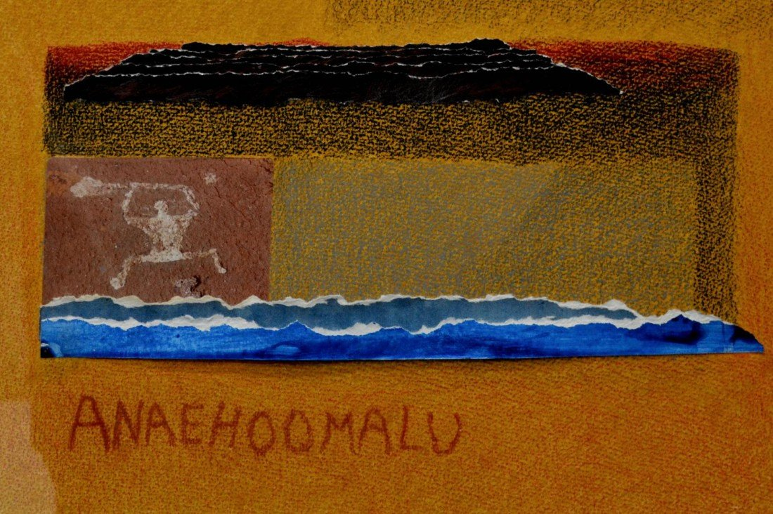 291: FRAMED PAINTING, WAILEHUA GRAY, HAWAII, 1933-2005 - 3