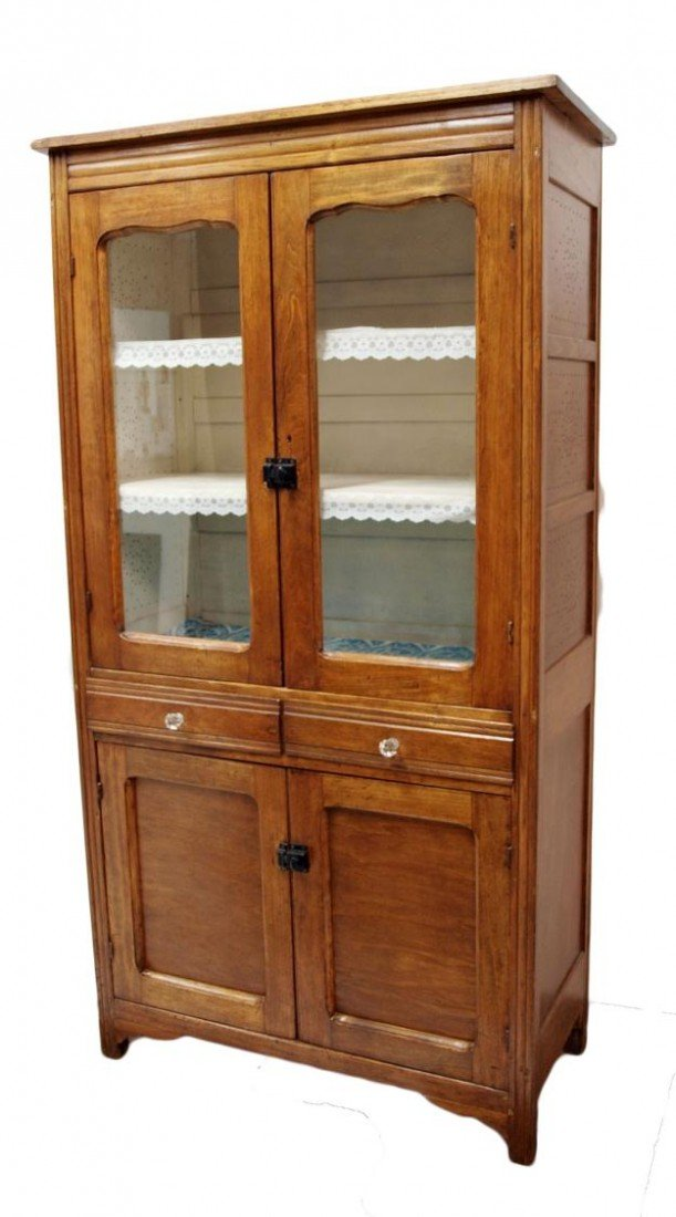 148: AMERICAN KITCHEN CABINET, PUNCHED SIDE PANELS