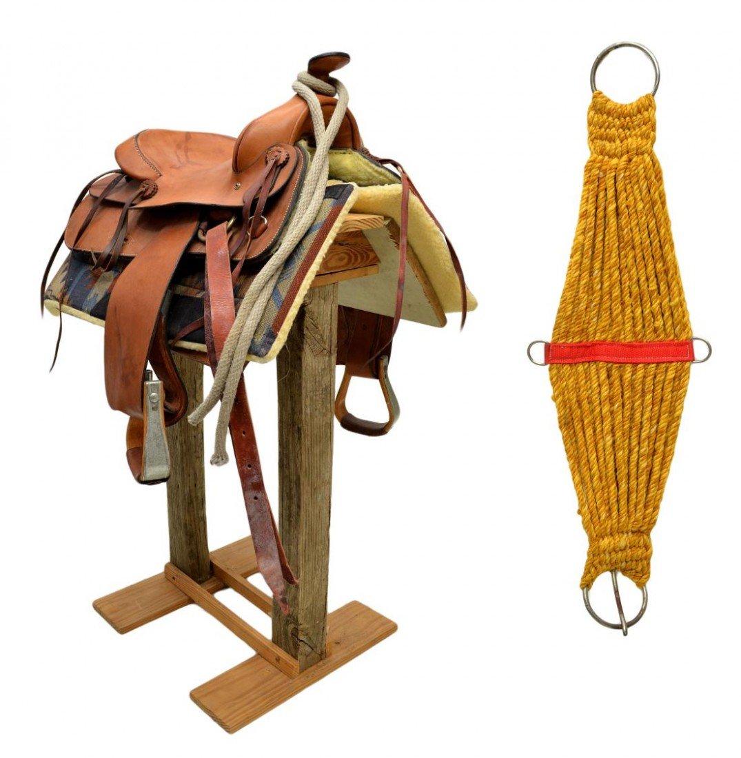 232: BUFORD #1153 WESTERN HORSE SADDLE