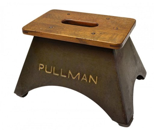 Peachy 403 Pullman Railroad Steel Wood Step Stool Andrewgaddart Wooden Chair Designs For Living Room Andrewgaddartcom