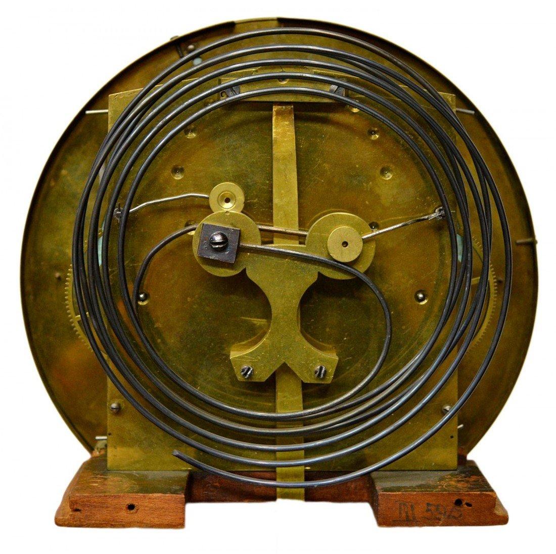 3: ROSEWOOD 3 WEIGHT VIENNA REGULATOR WALL CLOCK - 6