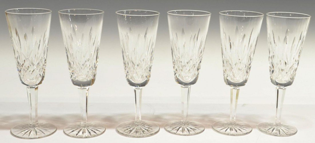 12: (6) WATERFORD LISMORE FLUTES