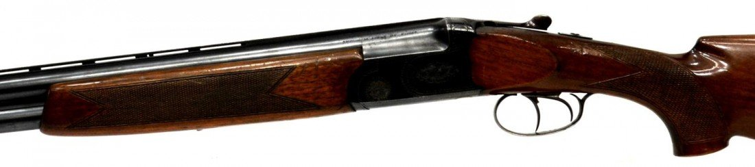 48: FIAS OVER & UNDER 12 GAUGE MAGNUM SHOTGUN