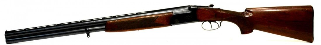 48: FIAS OVER & UNDER 12 GAUGE MAGNUM SHOTGUN - 2