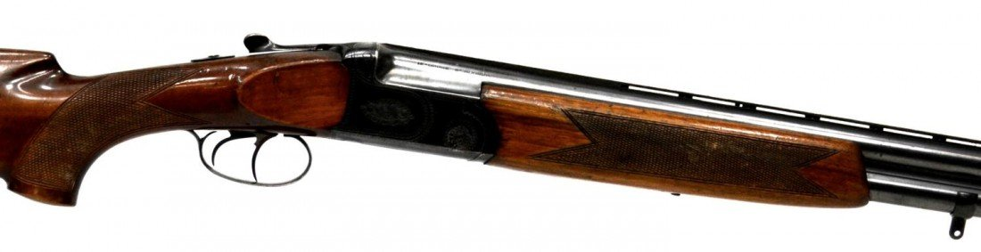 48: FIAS OVER & UNDER 12 GAUGE MAGNUM SHOTGUN - 5