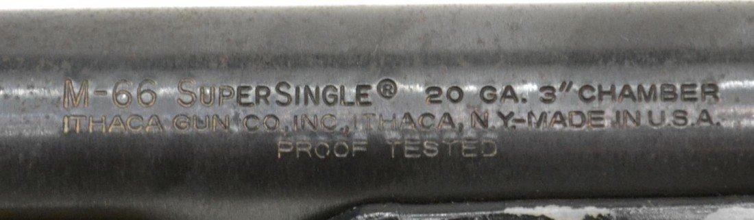 54: ITHACA M-66 SUPER SINGLE SHOTGUN, 20 GAUGE - 3