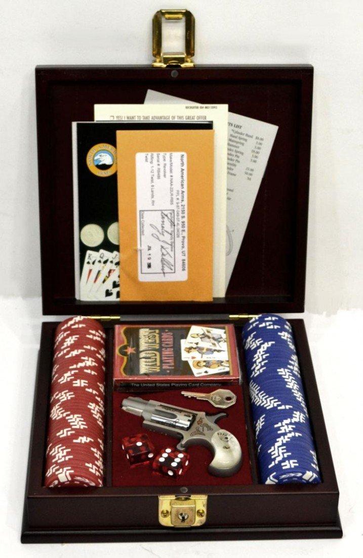 102: TALO RIVERBOAT .22 DERRINGER, & GAMBLERS BOX