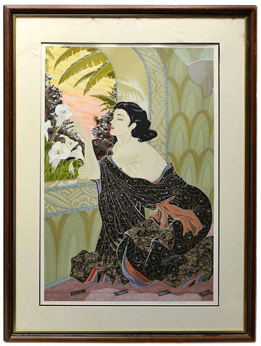 23: LARGE FRAMED ARTIST PROOF, MURAMASA KUDO (b. 1948)