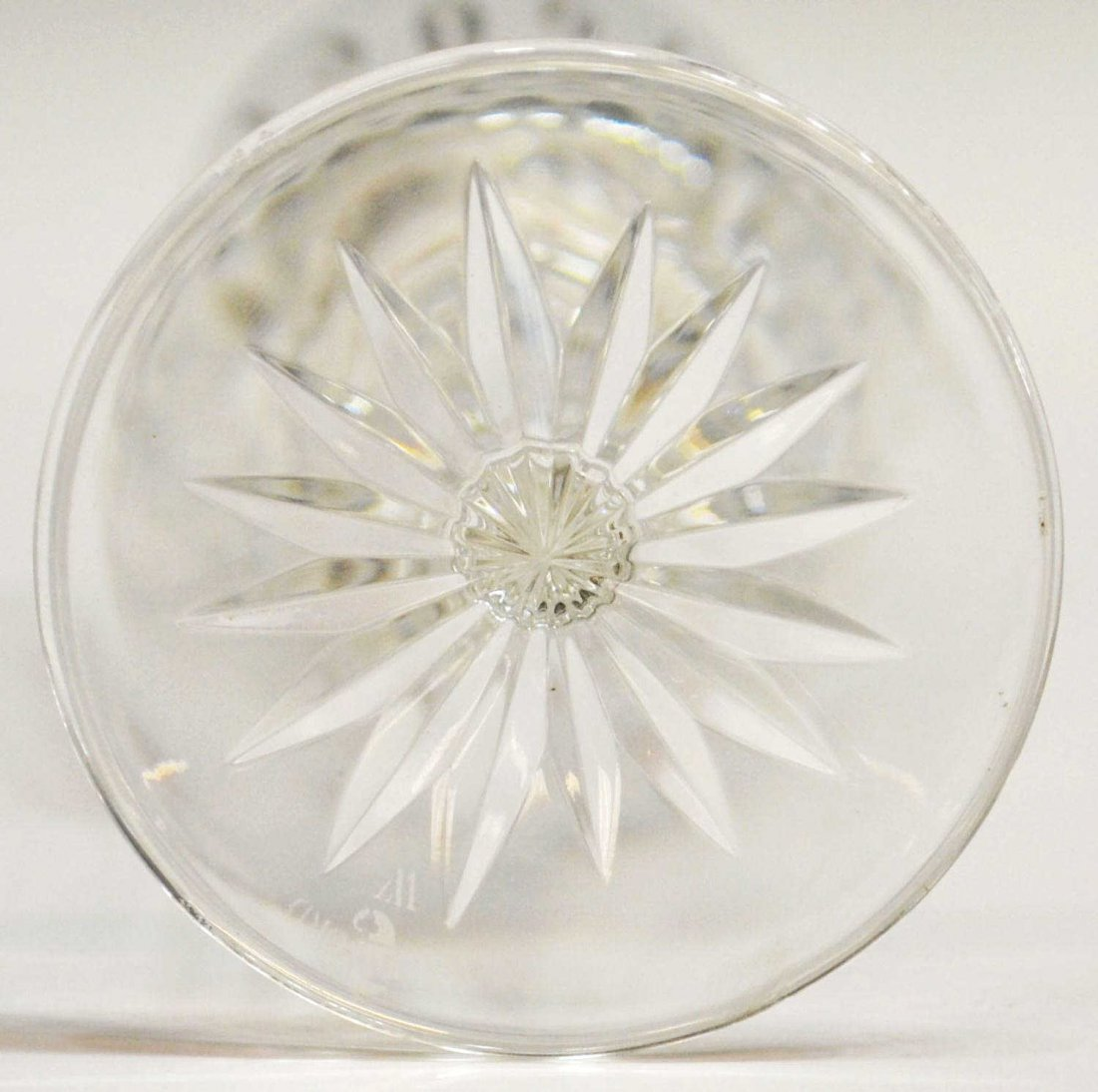 408: (7) WATERFORD CRYSTAL 'LISMORE' CHAMPAGNE FLUTES - 4