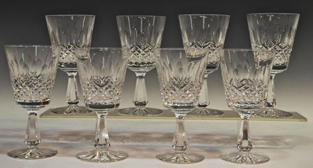 410: (8) WATERFORD CRYSTAL 'KENMARE' GOBLETS