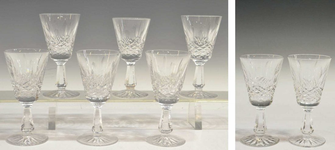 414: (8) WATERFORD CRYSTAL 'KENMARE' GOBLETS