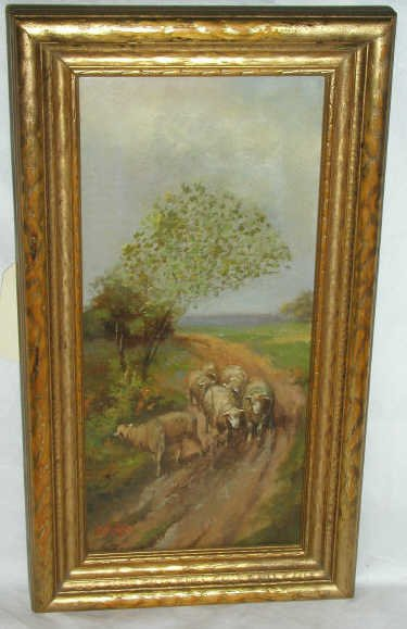 18: OIL PAINTING SIGNED